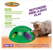 New listing Cat Toy, Pop N' Play Interactive Motion Mouse Electr Pet Toys