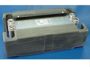 355kW Edelstahl plattenwärmetauscher B3-60A-30 incl. dämmschale , bhkw, heizung