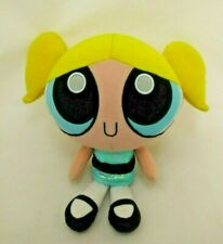 "Powerpuff Girls Bubblies Talking Sound Plush 9"" Doll Cartoons Network 2000"