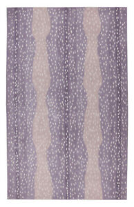 New Brand 5 x 8 Antelope Purple Handmade Contemporary Style Woolen Rug & Carpets