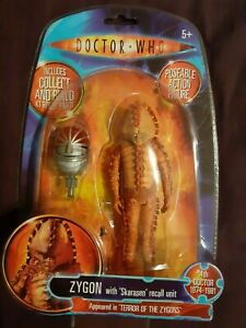 """Classic Doctor Dr Who Zygon + K1 Robot Part 5.5"""" Inch New BNIB Rare Figure"""