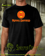 Royal Enfield T-Shirt British Motorcycle Vintage Motorcycles Biker S-6XL