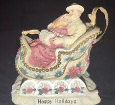Vintage San Francisco Music Box Company Christmas Medley By Ellen Kamysz w/ box