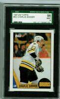 Charlie Simmer  1987-88 Topps Hockey SGC MINT 96/9 & Bonus Cards always added