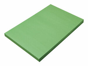 SunWorks Heavyweight Construction Paper, 12 x 18 Inches, Holiday Green, Pack of