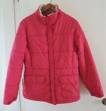 Lands End Women's Puffer Jacket Coat Pink Coat Size L (14 - 16)