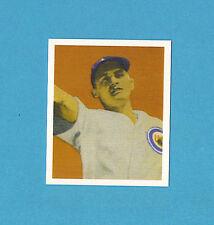 1949 Bowman Reprint #38 Emil The Antelope Verban Card - Chicago Cubs