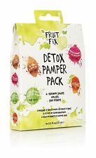 Fruit Detox Pamper Pack Beauty Gift Set x Face Mask Hair Mask Foot Cream Mum