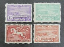 nystamps Uruguay Stamp # C79//C87 Mint OG H $38    U11y1248