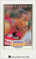 1993 Futera Australia Basketball Cards NBL Legend Card Herb McEachin