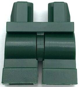 Lego New Dark Green Minifigure Medium Length Legs Kids Pants Boy Girl City Piece
