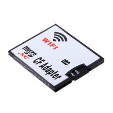 USA Memory Card WIFI Adapter TF Micro SD to CF Compact Flash Card Kit