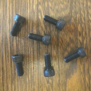 Set 6 Disc Brake Rotor Bolts 12.9 Hi Tensile M5 x 12mm