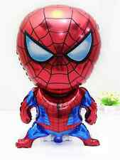 2 pcs x Spiderman Helium Party Balloon,Birthday decoration 47 x 80 cm spider man