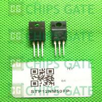 3PCS STP12NM50FP TO-220 Trans MOSFET 500V 12A