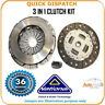 3 IN 1 CLUTCH KIT  FOR DAIHATSU SIRION CK9740