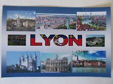 LYON - JUMBO FRIDGE MAGNET - Vieux Lyon, Fourvière, Basilica of Notre-Dame de Fo