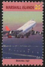 BOEING 747 JUMBO JET Aircraft Stamp (Marshall Islands)