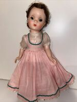 "Vintage Madame Alexander Little Women Beth 14"" Rare Bent Knee Doll 1955"