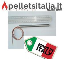CANDELETTA RESISTENZA PER STUFE A PELLET 350W 12,5 cm x 16 cm nuova con fattura