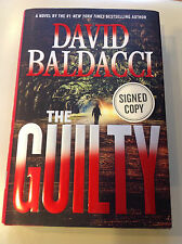 THE GUILTY by David Baldacci (2015)**SIGNED**1st/1st**FREE USPS tracking