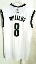 Adidas NBA Jersey Nets Deron Williams White sz M