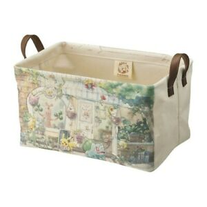 Pokemon Storage Basket M Size  Pokémon Grassy Gardening Japan NEW Pocket Monster