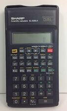 SHARP EL-509HL Scientific Calculator with cover Advanced DAL Works!