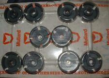 5 pairs Mullard LA1443 ferrite core pair philips 26mm diameter x 8mm deep pot
