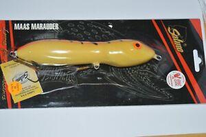 "salmo maas marauder 18 floating GLOWS luminescent fire tiger 7"" big fish lure"