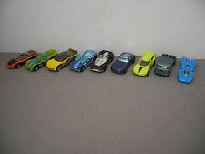 Lot of 9 Hot Wheels Concept Cars Metal Vehicles