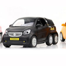 1:24 Benz Smart Fortwo Pickup Model Car Diecast  Toy Vehicle Black Collection