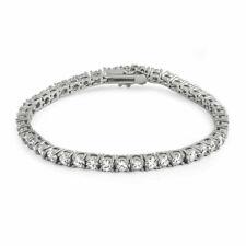 1 Row 2 Carat G SI1 Huge Natural Diamond Tennis Bracelet 14k White Gold