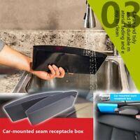 Car Storage Box Gap Filler Pocket Organizer Car Seat Side Drop Caddy Catcher mX
