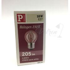 Paulmann Halógeno Gotas E27 18W 205lm 2700K Blanco Cálido 800.16
