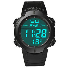 cronografo Orologio digitale analogico retroilluminato HONHX nl