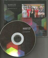 Weakerthans IMAGINARY CITIES Hummingbird TST PRES USA 2012 PROMO DJ CD single