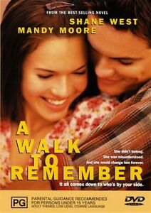 A WALK TO REMEMBER starring Mandy Moore (DVD, 2004)