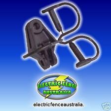 PREMIUM ELECTRIC FENCE STEEL-POST INSULATORS (BAG 25)