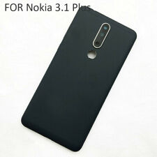 New Back Battery Cover Rear Case Replace Parts For Nokia 3.1 Plus Camera lens RH