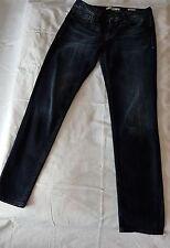 Dunkelblaue Jeans von Mavi Uptown, Sophie, skinny, W29 L32, distressed, Damen