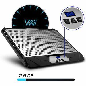Klim Swift Notebook Speed Adjustable 2 Fan Laptop Cooler Cooling Stand