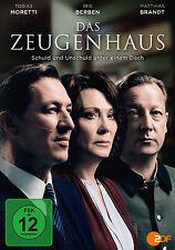 DVD * DAS ZEUGENHAUS | IRIS BERBEN , MATTHIAS BRANDT # NEU OVP §