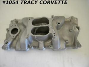 1955-86 Chevy New SBC ProMotive 41501 Twister Series Satin Alum Intake Manifold