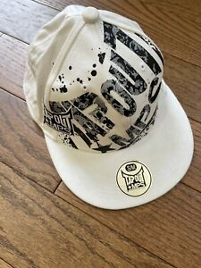 TAP OUT~ NWT WHITE BASEBALL CAP