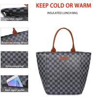 WODKEIS Lunch Bag Insulated Lunch Tote Bag Thermal Handbag Picnic Box Waterproof