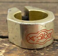 Xcaliber Seat Clamp 1978 Old School BMX 70s Turner Redline GOLD