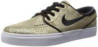 Nike SB Zoom Stefan Janoski Leather Metallic Gold / White / Light Brown  size 9
