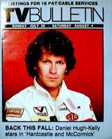 TV Guide 1984 Hardcastle & McCormick Regional TV Bulletin OC Vintage VG COA