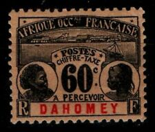 DAHOMEY : TIMBRE TAXE n°7, Neuf * = Cote 25 € / Lot COLONIES